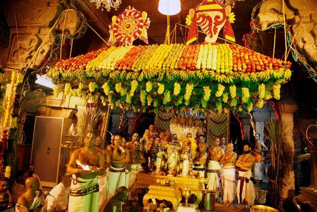 fruit decorations for srivari snapana thirumanjanam � ttd news