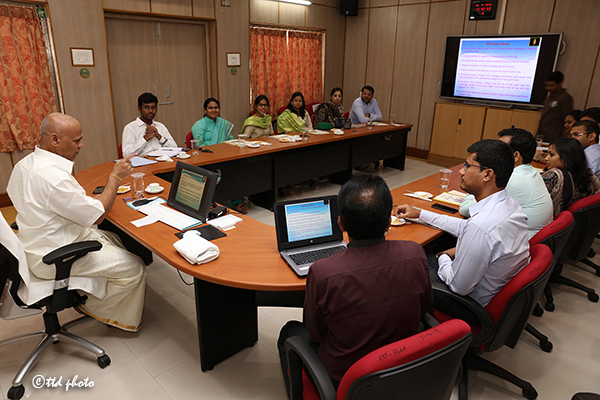 ADDL EO BRIEFS IAS PROBATIONERS ON TTD