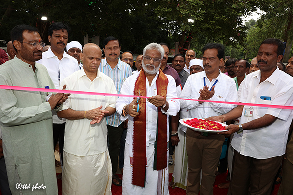 INAUGURATION OF EXIBITION