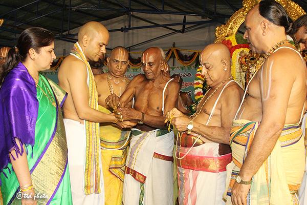 Astottara Satakundatmaka Srinivasa Maha Yagam Ankurarpanam2