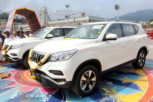 DONATION OF MAHENDRA ALTURAS G4 CARS2