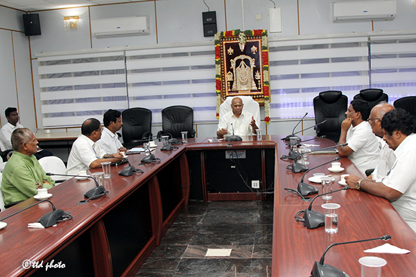 ADDITIONAL EO MEETING WITH RETIRED EMPLOYEES OF TTD