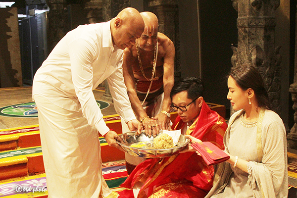 THAILAND DEVOTEES CAME FOR SRIVANI TRUST DARSHAN