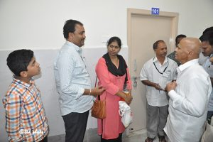 ADDNL.EO INSPECTS REST HOUSES IN TIRUMALA2co