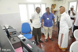 ADDNL.EO INSPECTS REST HOUSES IN TIRUMALAco