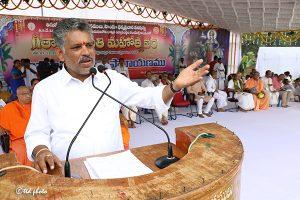 SRI CHAVIREDDY BHASKAR REDDY ADDRESSING