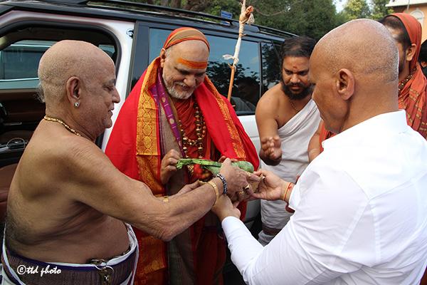 Sri Swaroopananendra Saraswathy Swamy Sarada Peetham 2