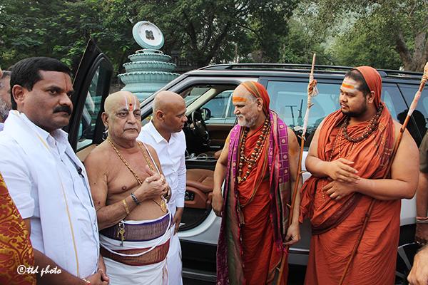 Sri Swaroopananendra Saraswathy Swamy Sarada Peetham 4