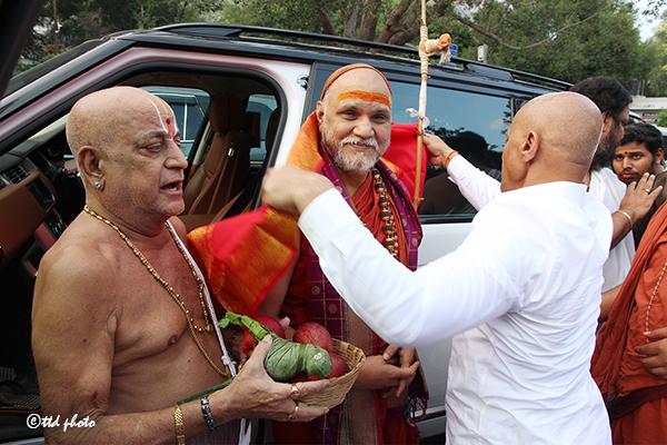 Sri Swaroopananendra Saraswathy Swamy Sarada Peetham