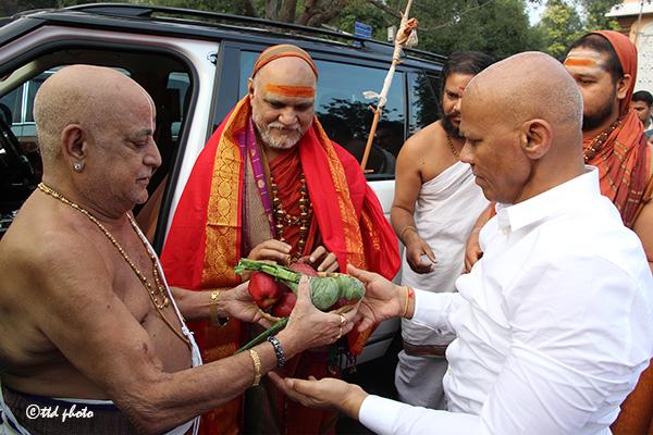 Sri Swaroopananendra Saraswathy Swamy Sarada Peetham1
