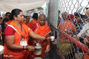 Srivari Sevas Milk Disitbution