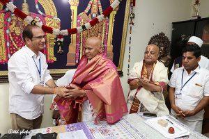 SRI AV DHARMA REDDY TAKING CHARGE AS MD SVBC
