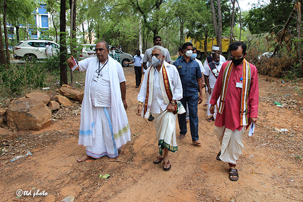 Ttd Chairman Inspection of Science City of Tirupati1