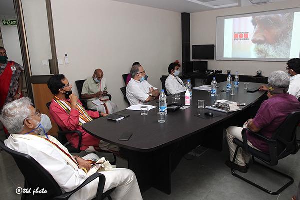 Ttd Chairman Inspection of Sri Venkateswara Aravind Eye Hospital4
