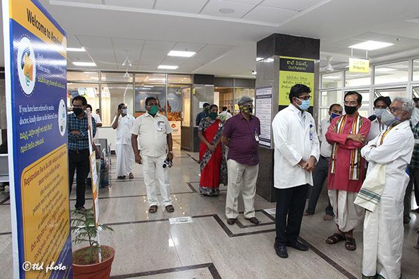 Ttd Chairman Inspection of Sri Venkateswara Aravind Eye Hospital6