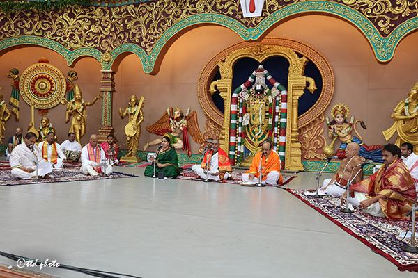 Sundaraknda Pathanam at Nadaneerajana Mandapam in Tirumala1
