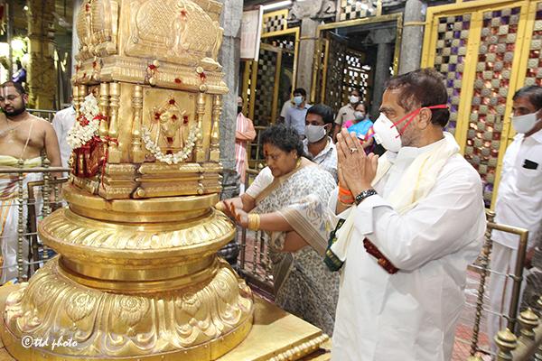 The Honourable Speaker of Sri Tammineni Sitaram visit to Sri PAT1