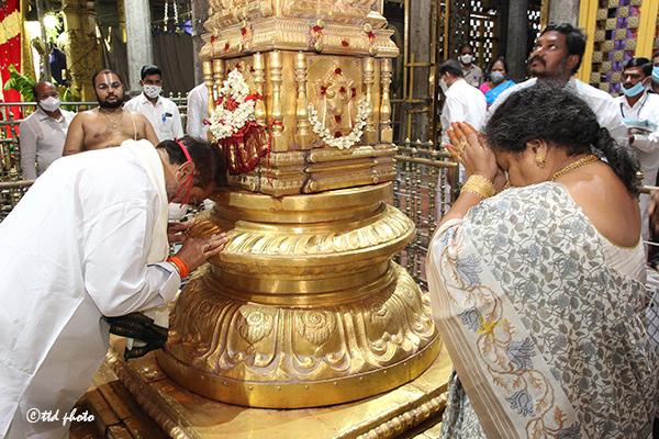 The Honourable Speaker of Sri Tammineni Sitaram visit to Sri PAT3