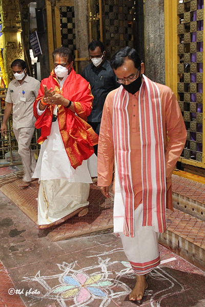 The Honourable Speaker of Sri Tammineni Sitaram visit to Sri PAT4