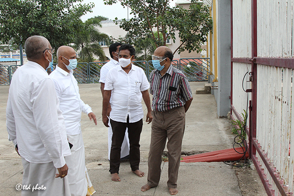 ADDITIONAL EO INSPECTS VARIOUS DEVELOPMENT WORKS1