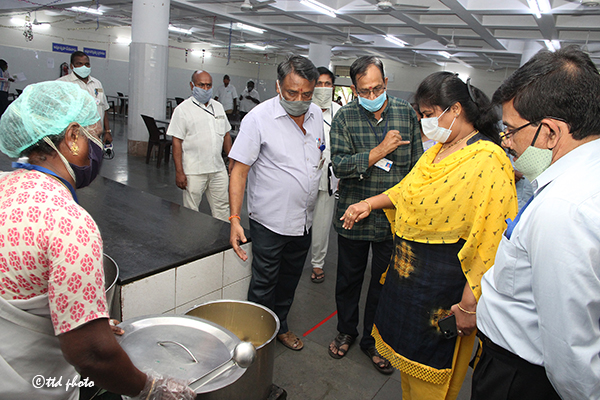 JEO H&E INSPECTION OF TTD EMPLOYEES CANTEEN1