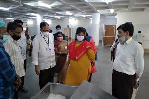 JEO INSPECTIONS AT ANNAPRASADAM BHAVAN