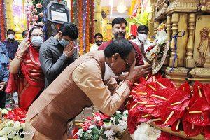 CM of MP Sri Shivraj Singh Chouhan Visit to Sri Pat5