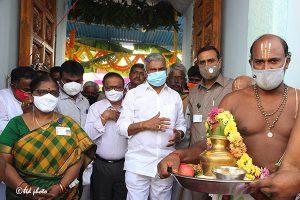 Taking over of Sri Prasanna Venkateswara Swamy Booragamanda VillageTemple6