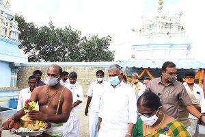 Taking over of Sri Prasanna Venkateswara Swamy Booragamanda VillageTemple7