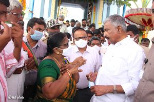 Taking over of Sri Prasanna Venkateswara Swamy Booragamanda VillageTemple8