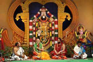 VISAKHA SHARADA PEETHAM PONTIFF LAUDS TTD's SPIRITUAL DISCOURSES1