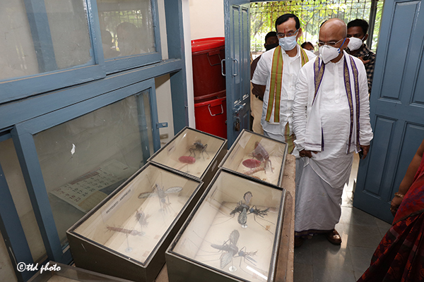 EO INSPECTS AYUR COLLEGE 3