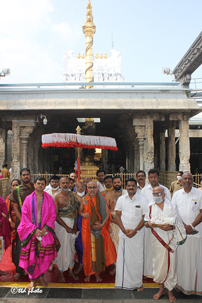 HHSRI SRI VIDYESHA TEERTHA SRIPADU PEETADHIPATHI BHANDARAKERI MATHA UDIPI VISIT TO TML.3pg