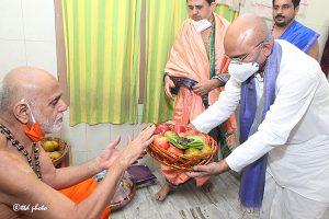 Sri Vidhya Shreesha Teertha Swamiji Peetadhipathi of Sri Vyasaraja Mutt11