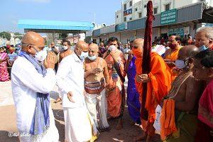 Sri Vidhya Shreesha Teertha Swamiji Peetadhipathi of Sri Vyasaraja Mutt2g