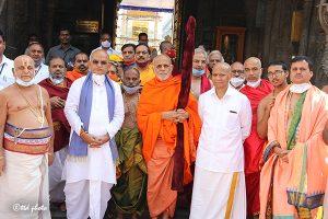 Sri Vidhya Shreesha Teertha Swamiji Peetadhipathi of Sri Vyasaraja Mutt7
