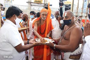 Sri Vidhyaranya Bharathi Swamiji Peetadipati of Sri Hampi