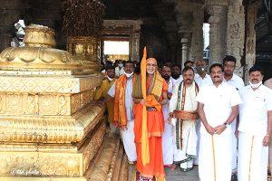Sri Vidhyaranya Bharathi Swamiji Peetadipati of Sri Hampi3