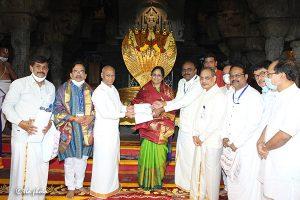 Donation of 20 Laksh Svbc Trust 1