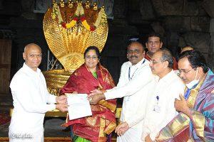 Donation of 20 Laksh Svbc Trust 2