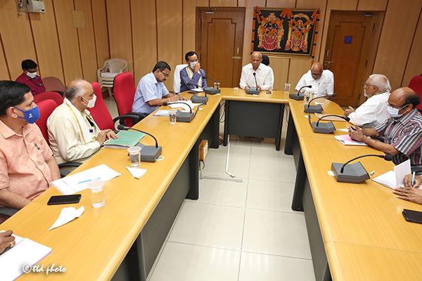 MEETING ON KAMADHENU PUJA