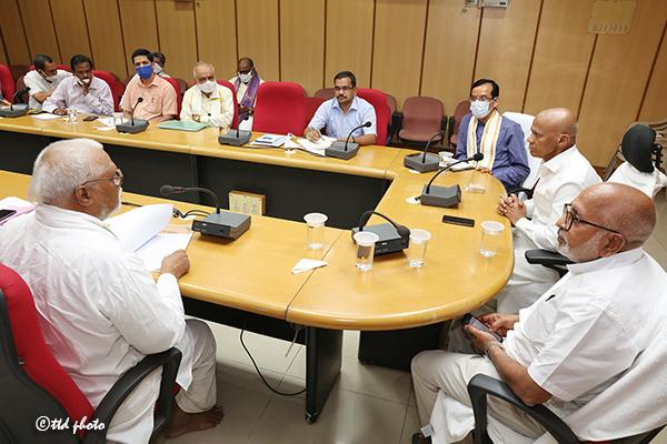MEETING ON KAMADHENU PUJA1