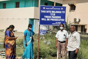 SIGN BOARDS ERECTED AT TTD PROPERTIES1