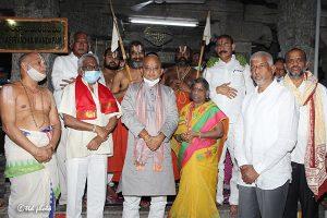 Tridendi Chinnajeeyar Swamy Visit to Sri Pat
