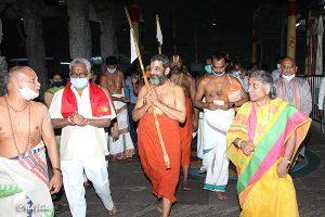 Tridendi Chinnajeeyar Swamy Visit to Sri Pat1