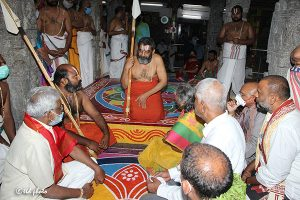 Tridendi Chinnajeeyar Swamy Visit to Sri Pat16