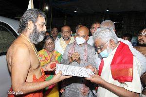 Tridendi Chinnajeeyar Swamy Visit to Sri Pat4