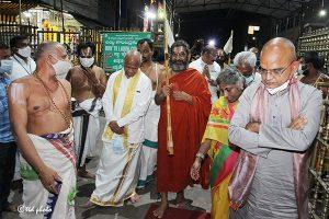 Tridendi Chinnajeeyar Swamy Visit to Sri Pat8