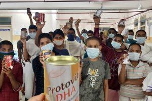 PROTEIN POWDER FOR TIRUMALA VEDA PATHASHALA STUDENTS1