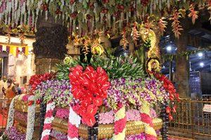 Temple Flower Decration1
